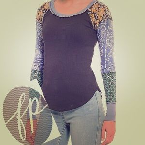 NWT Free People Bright Side Thermal